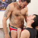 Teach Twinks Gaylife Network Collin Stone and Ryker Madison Hairy Daddy Fucking A Twink 05 150x150 Collin Stone & Ryker Madison:  The Boss Barebacks The Twink