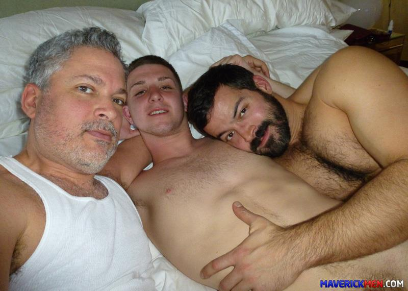 Amateur Bisexual Virgin Twink Rides Two Hairy Daddy Cocks ...