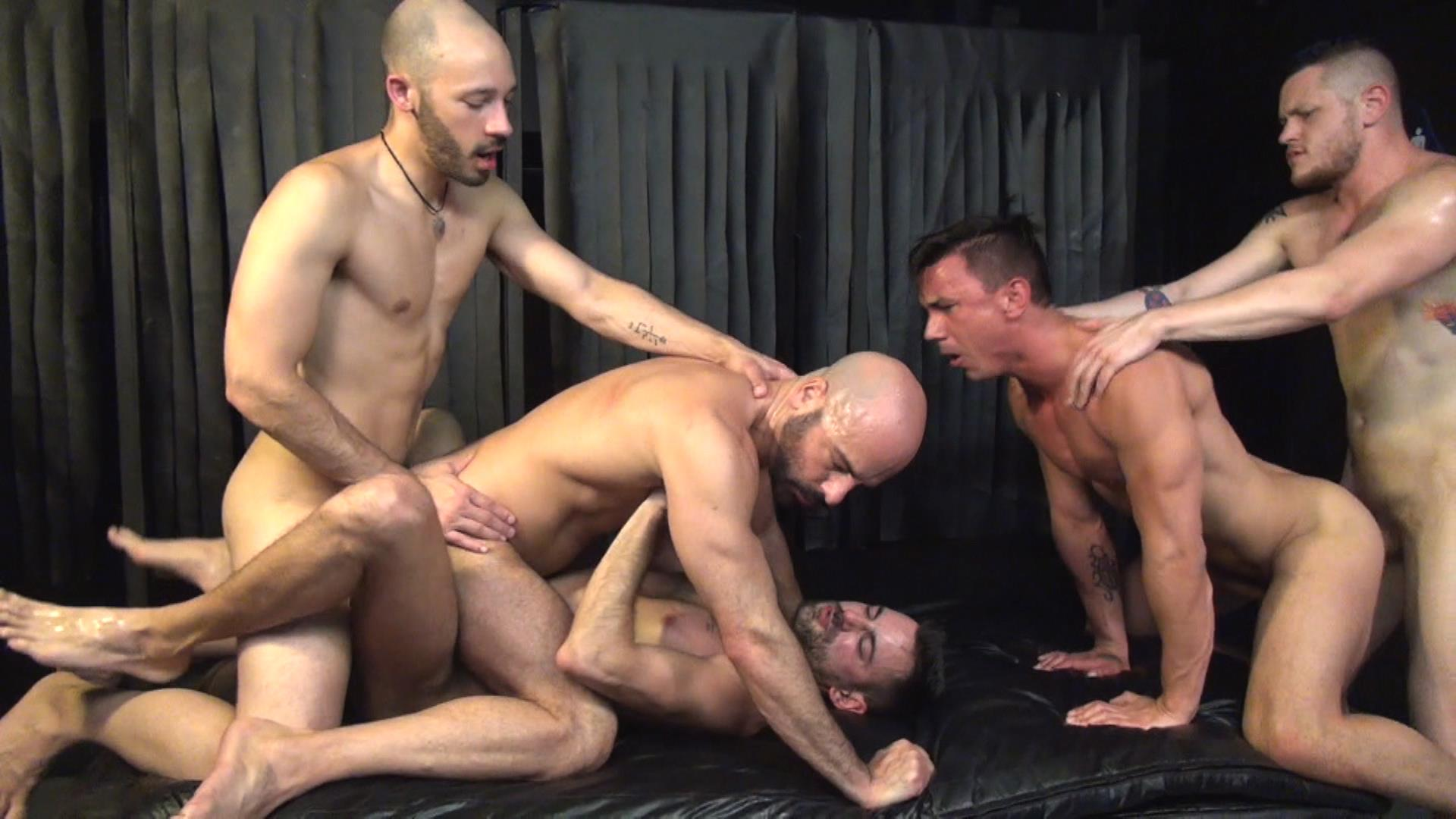 Raw Fuck Club Blue Bailey and Dylan Strokes and Adam Russo and Dean Brody and Jay Brix Bareback Orgy Amateur Gay Porn 7 Adam Russo Ge