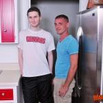Wank-This-Brett-Bradley-and-Josh-Pierce-Two-Hung-Guys-Bareback-fucking-Amateur-Gay-Porn-01-150x150 Amateur Hung Guys Bareback Fucking In The Kitchen