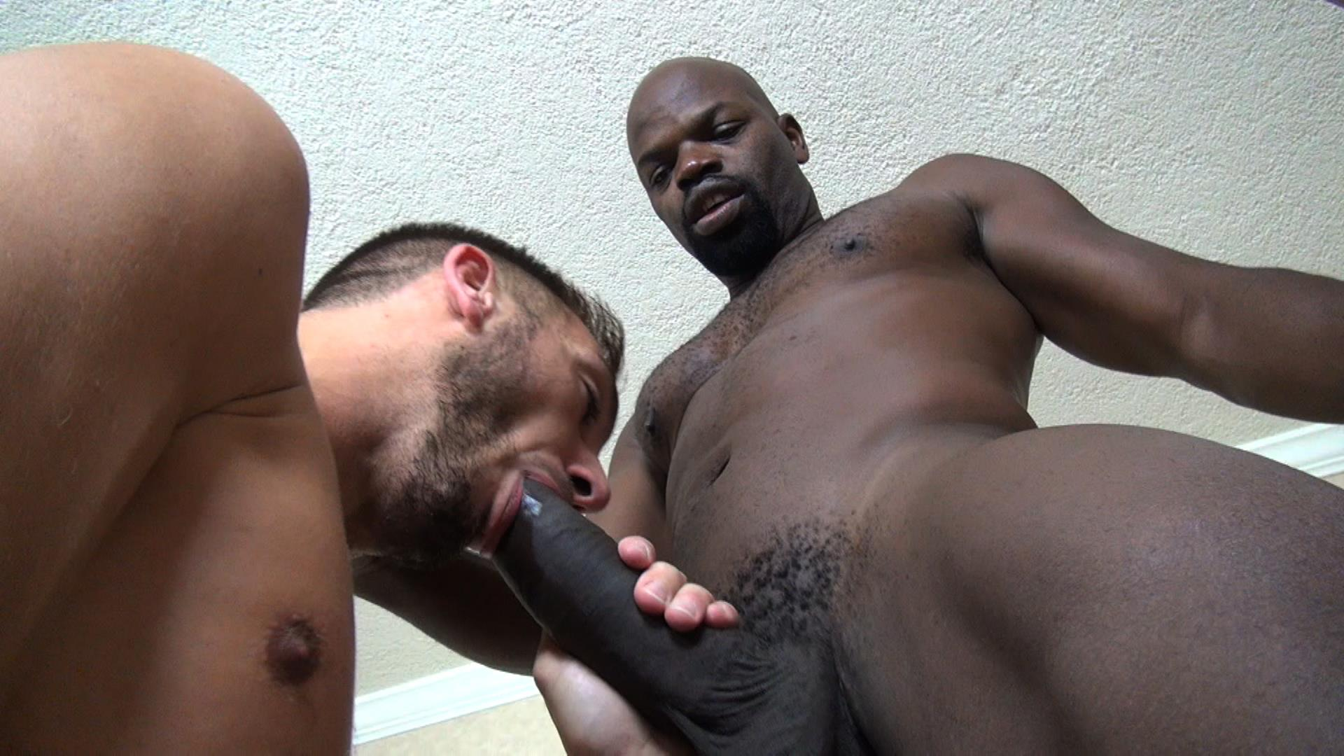 Cum swallow gay black
