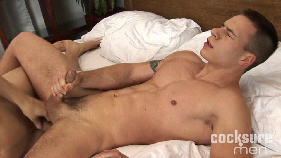 Cocksure Men Bobby Gest and Dick Keissie Bareback Jocks Uncut Cocks Amateur Gay Porn 18 Young Athletic Jock Barebacking His Uncut Buddy