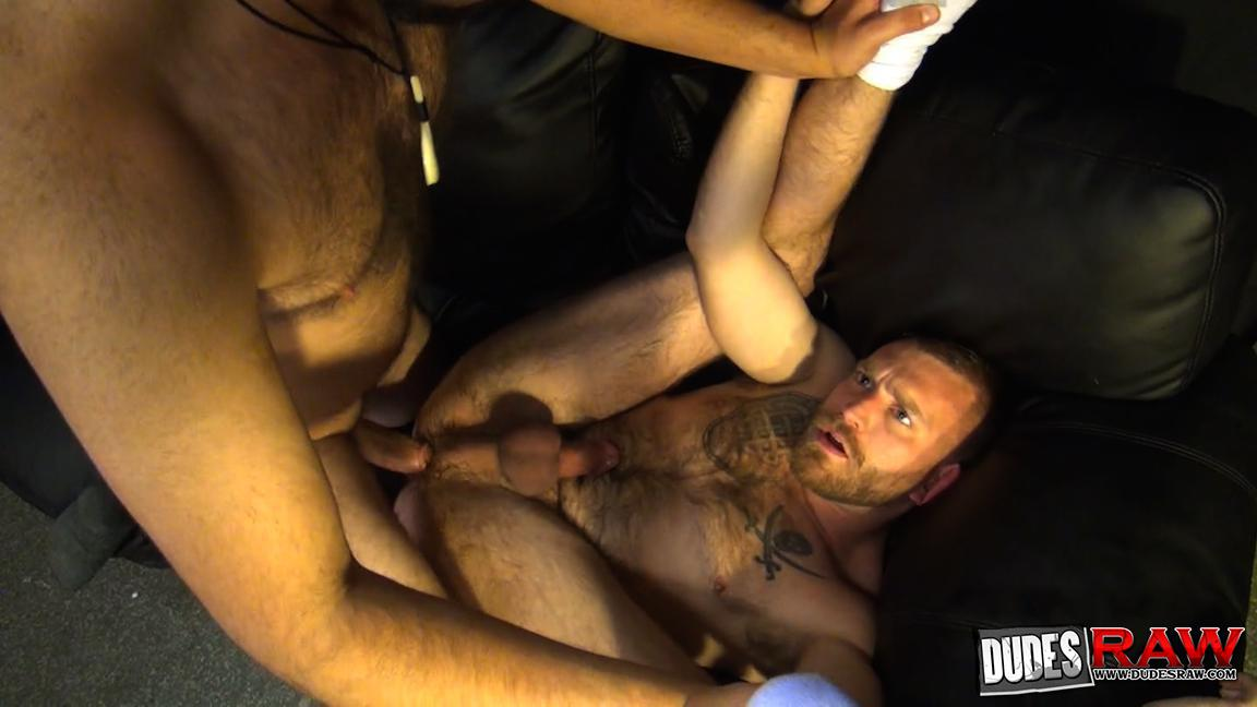 Dudes-Raw-Kodah-Filmore-and-James-Roscoe-Barebacking-A-Hairy-Ass-Piggy-Sex-Amateur-Gay-Porn-09 Pure Pigs:  Kodah Filmore Breeding James Roscoe
