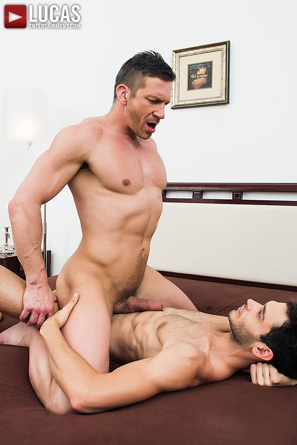 Lucas Entertainment Leo Alexander and Tomas Brand Huge Cock Bareback Fucking Amateur Gay Porn 07 Lucas Entertainment Debuts Huge Cock Leo Alexander Bareback