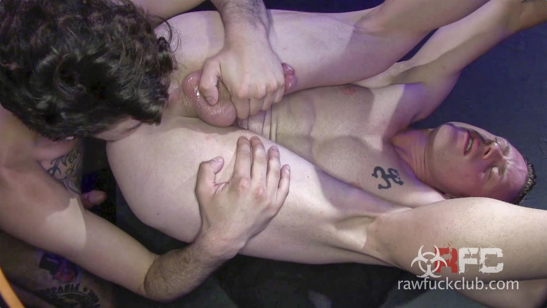 Raw-Fuck-Club-Saxon-West-and-Luke-Harding-Big-Dick-Bareback-Sex-Amateur-Gay-Porn-6 Luke Harding Breeding Saxon West's Muscular Ass