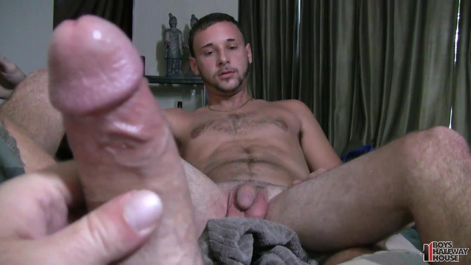 Boys-Halfway-House-Aaron-Straight-Guy-Getting-Fucked-Bareback-Amateur-Gay-Porn-12 Delinquent Straight Boy Forced Into Bareback Sex And Cum Eating
