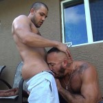 Dudes Raw Alessio Romero and Mario Cruz Bareback Muscle Daddy Latino Amateur Gay Porn 08 150x150 Muscle Daddy Alessio Romero Gets Bred By Mario Cruz