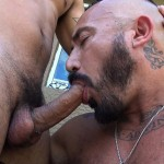 Dudes Raw Alessio Romero and Mario Cruz Bareback Muscle Daddy Latino Amateur Gay Porn 10 150x150 Muscle Daddy Alessio Romero Gets Bred By Mario Cruz