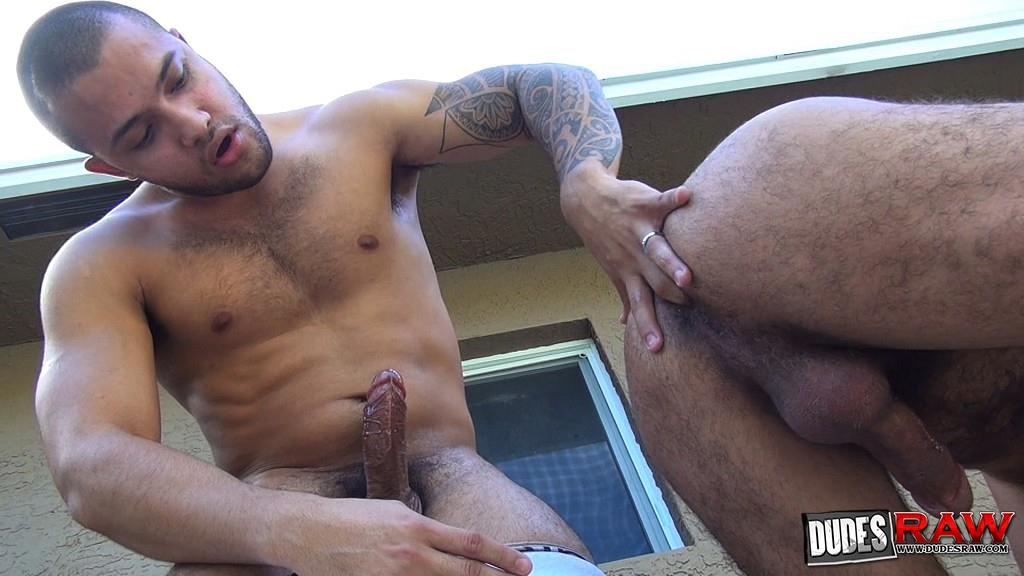 Dudes Raw Alessio Romero and Mario Cruz Bareback Muscle Daddy Latino Amateur Gay Porn 36 Muscle Daddy Alessio Romero Gets Bred By Mario Cruz