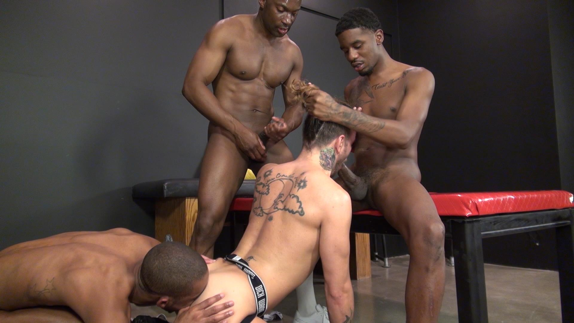 Raw and Rough Champ Robinson Lukas Cipriani Knockout Tigger Redd BBBH Amateur Gay Porn 19 White Boy Gets A Breeding By Three Big Black Dicks