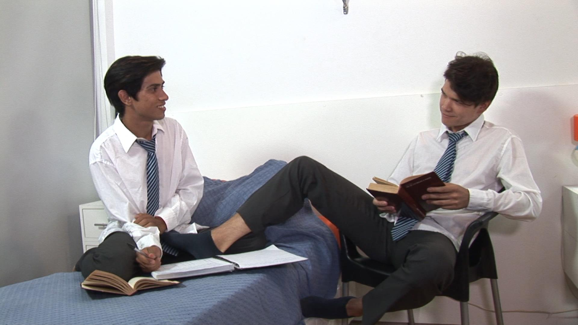 Bareback-Me-Daddy-Gay-Priest-Fucking-College-Students-01 Latin School Twinks Get Fucked By Their Older Catholic Priest