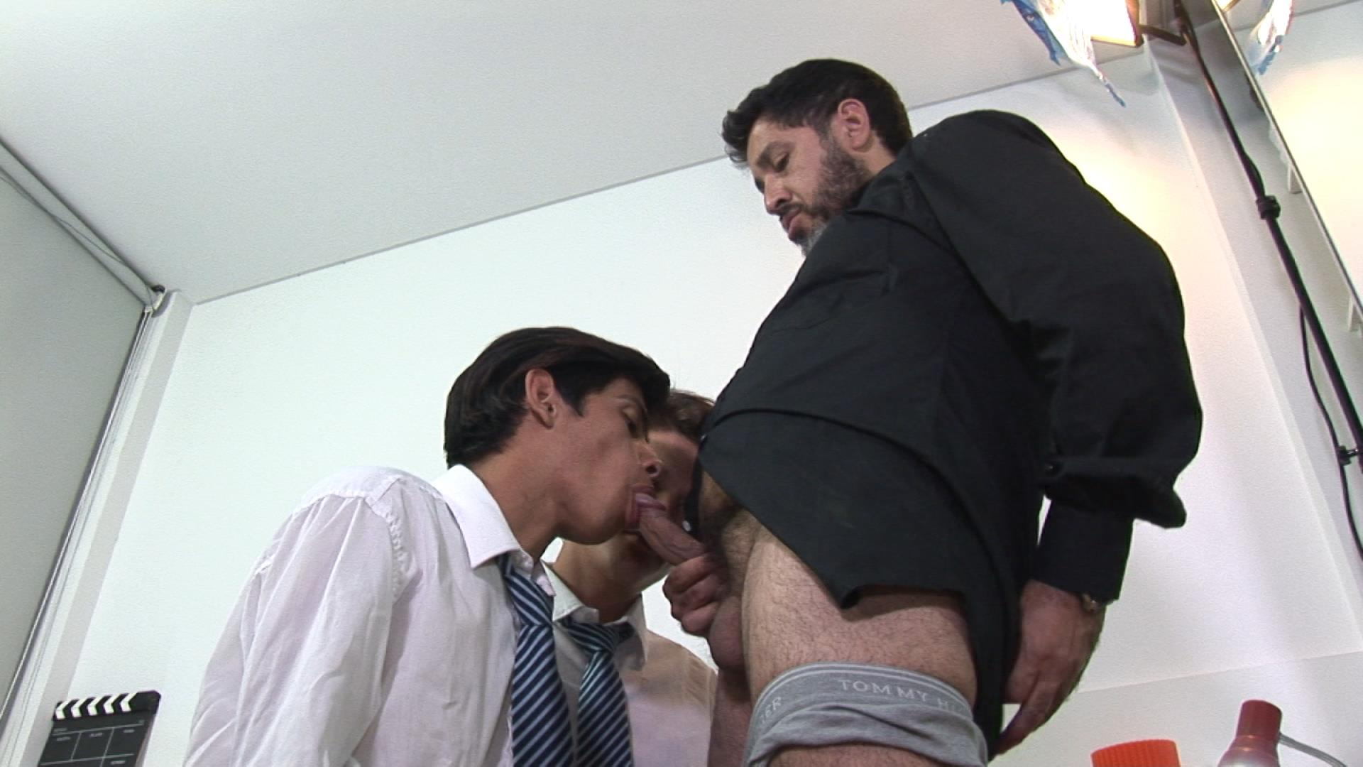 Bareback-Me-Daddy-Gay-Priest-Fucking-College-Students-11 Latin School Twinks Get Fucked By Their Older Catholic Priest