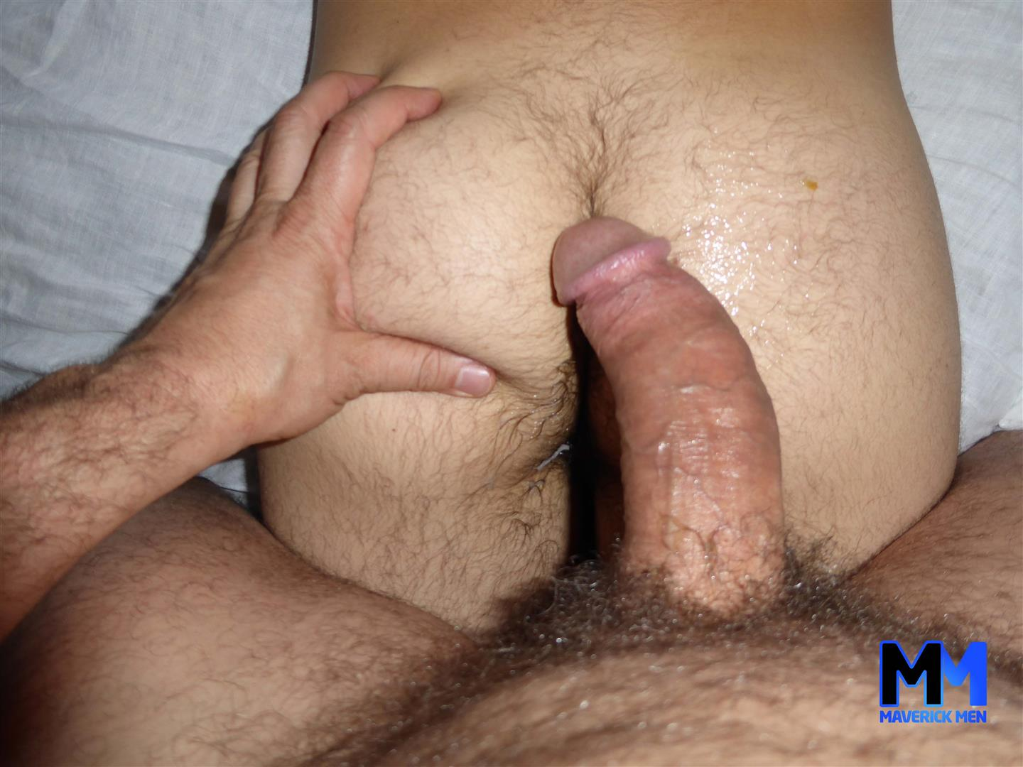 Maverick-Men-Joey-Twink-With-Hairy-Hole-Getting-Barebacked-2 The Maverick Men Cream A Young Guys Hairy Ass